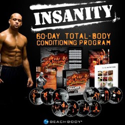Shaun T. Beach Body Insanity Fitness Workout