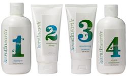 Keratin Earth Hair Straightening Solution