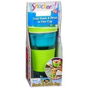 Snackeez is the all in one go anywhere drink and snack solution.