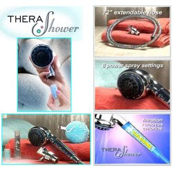 Thera Shower Aromatherapy Shower Head Filtration System